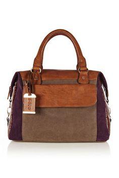 Colour block bag, Oasis, £40