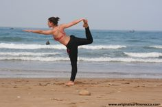 Surf and Yoga a great combinaition to energize: www.originalsurfmorocco.com