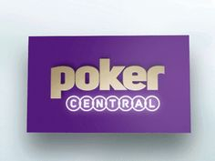 Poker Central Apple TV icon by Seth Louey