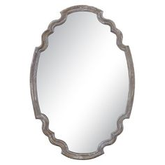 $213.40 Uttermost Ludovica Aged Wood Mirror