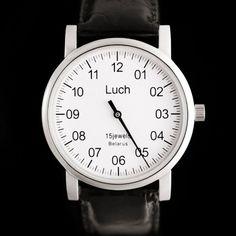 Montre mono aiguille mécanique Biélorusse - One hand watch mechanical - 65€