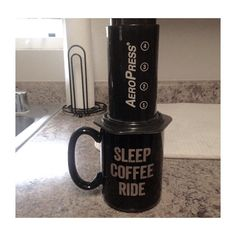 Are you sticking with the program this Saturday?  #Aeropress #Coffee #SleepCoffeeRide #MainlineCoffee
