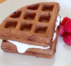 Whoop there it is! A whoopie pie made in a waffle iron is genius.