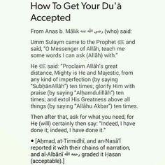 Dua to be accepted Islam Hadith, Allah Islam, Islam Muslim, Islam Quran, Alhamdulillah, Quran Verses, Quran Quotes, Wisdom Quotes, Ali Quotes