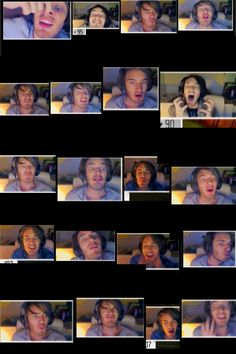 The many faces of pewdiepie part 2! :P