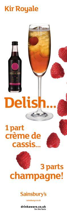 #SainburysRecipes #Cocktails #CremeDeCassis #Bitters #Sainsburys #Prosecco