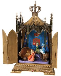Sleeping Beauty-Sleeping Beauty Jeweled Box (2008 Numbered Limited Edition Gold Circle Exclusive)