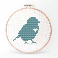 Bird Cross Stitch Kit II now featured on Fab.