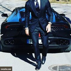 Very elegant.  or ? >> @luxuvore for more! #sweartee #fashion #style #attitude #elegance #class #suit #men #male #car