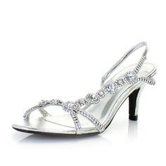 wedding short heels for bride | silver wedding shoes low heel ...