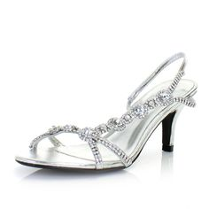 Shoes for Events Wedding / Kitten heel sandals The long line over