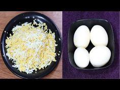 उबले अंडे का ऐसा टेस्टी नाश्ता जिसे आप बनाये बिना नहीं रह पाएंगे | boil egg recipe | egg pakoda - YouTube Indian Designer Outfits, Grains, Rice, Eggs, Breakfast, Youtube, Food, Morning Coffee, Essen