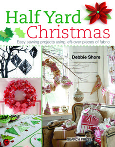 Half Yard Christmas: Easy sewing projects using left-over pieces of fabric - New in our Adult Non Fiction section Christmas Sewing, Christmas Books, Felt Christmas, Christmas Projects, Christmas Themes, Christmas Cover, Holiday Crafts, Christmas Garden, Handmade Christmas