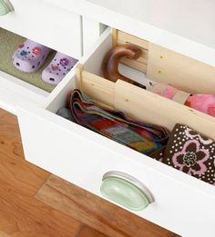 """#Drawer #Dividers have a special place in my heart. """"Solutions for Managing Kid Gear"""""""