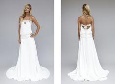 Robes de mariée chic rock / Wedding dresses chick rock > Modèle Lux Source: Lookbook 2013   Rime Arodaky