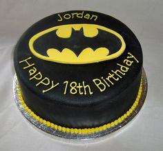 Jordan's batman cake by Sweet Sensations (was primacakes), via Flickr