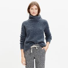 Cozy Sweaters For Fall at Every Price - Madewell Roundtrip Sweater, $88; at Madewell