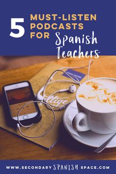 The Top Podcasts for Spanish Teachers in 2020 - Secondary Spanish Space Free Spanish Lessons, Spanish Basics, Spanish Teaching Resources, Spanish Lesson Plans, Ap Spanish, Spanish Activities, Spanish Language Learning, How To Speak Spanish, Learn Spanish