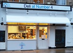 Deli at Number 4 - a fab little cafe and deli in Hexham, UK.  My niece (Katie) also works there!