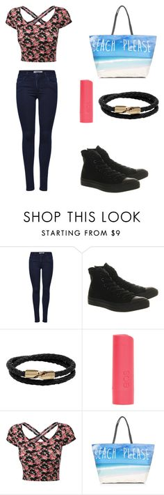 """""""Luke's Beach Date"""" by taylorxjane ❤ liked on Polyvore featuring ONLY, Converse, Mulberry and dELiA*s"""