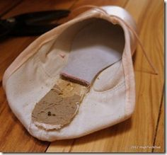 Why and How Ballerinas Break In Ballet Pointe Shoes. I love this article, definitely going to use it!