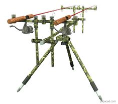 Fishing Tripod for rods – Diy Tripod from models and drawings – Famous Last Words Walleye Fishing, Carp Fishing, Kayak Fishing, Fishing Tips, Fishing Tackle, Fishing Rod Stand, Diy Tripod, 3d Cad Models, Bowfishing