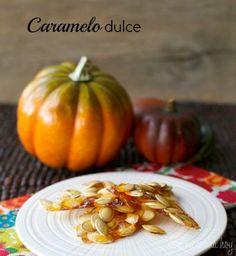 Caramelo / Pumpkin seeds Brittle | En mi cocina hoy