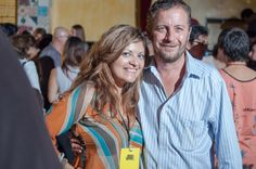 Patricia Chica with Festival Director at Directors Night (2014)