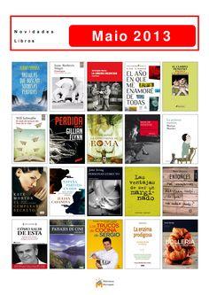 Últimas novelas, novelas xuvenís e libros de materias incorporados á colección da Biblioteca Os Rosales