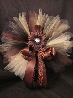 Image detail for -Newborn Baby Tutu Set in Cheetah... Baby Shower Centerpiece. - Baby