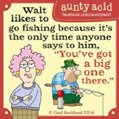 Aunty Acid And Her Husband Walt - Old Age
