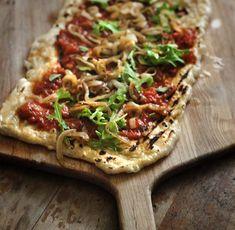 Grilled Flatbread Pizza (Vegan Friendly) vegan plantbased