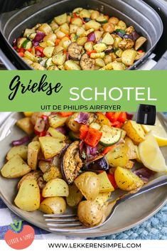 Dutch Recipes, Gourmet Recipes, Easy Healthy Recipes, Easy Meals, Mashed Parsnips, Air Fryer Recipes, Food Lists, Easy Cooking, Food Print