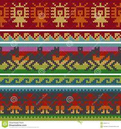 Resultado de imagen de peruvian knitting patterns