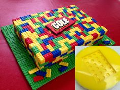 Make a fun Lego cake! Baby shower ideas for boys. Cake ideas for boy baby shower. Baby Boy Cakes, Cakes For Boys, Legos, Lego Birthday Party, 5th Birthday, Birthday Cakes, Birthday Ideas, Birthday Parties, Lego Cake