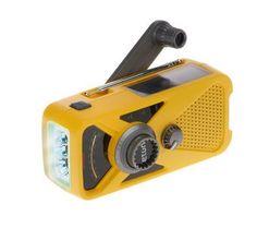 Want: ETON Hand Crank AM/FM Weather Radio w/ USB Charger and Flashlight (via QVC)