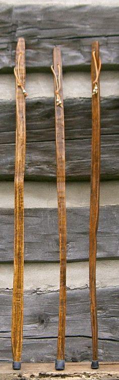 100 Year Old Tobacco Walking Sticks