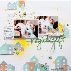 Pinkfresh Studio: Two layouts using the new collections