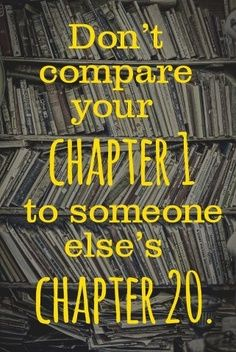 And vise versa!! We often forget... No two stories are the same!