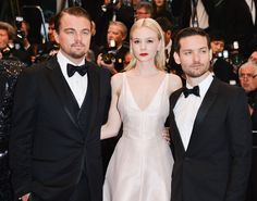 Cannes Film Festival The Great Gatsby opening night Carey Mulligan Christian Dior haute couture Leonardo DiCaprio Tobey Maguire