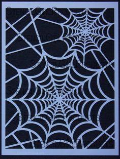 good with spider stencils