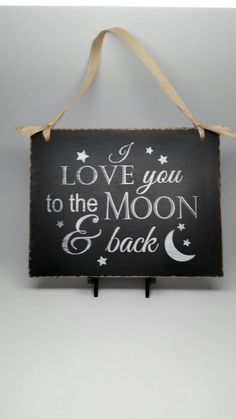 LOVE, LOVE, LOVE this sign! Cute gift for the bride to give the groom on wedding day!Valentine's Gift Idea for Him or Her  Chalkboard by SignsOLife