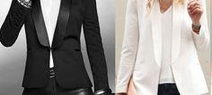 DIY – molde, corte e costura – Marlene Mukai. Esquema de modelagem de Blazer Smoking do tamanho 36 ao Bolero Pattern, Cardigan Pattern, New Outfits, Cool Outfits, Fashion Outfits, Womens Fashion, Costura Fashion, Crochet Jacket, Work Looks