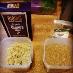 The grains of the future. Quinoa vs. Amaranth.