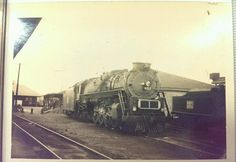 Vintage Central of Georgia Railway K-class Steam Locomotive #452 Train Photo in Collectibles, Transportation, Railroadiana & Trains   eBay