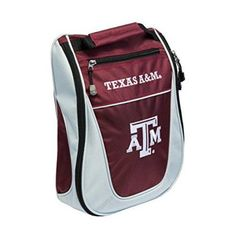 Team Golf 23482 Ncaa Texas A & M Aggies Golf Shoe Bag
