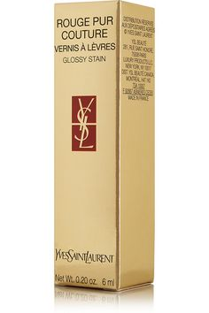 Yves Saint Laurent Beauty - Rouge Pur Couture Lip Lacquer Glossy Stain - Orange De Chine 8 - one size