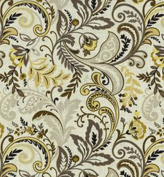 """SMC Swavelle Millcreek Waverly Fabric 54"""" - Findlay Cliffside Charcoal"""