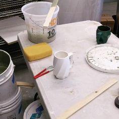 One-of-a-kind Handmade Porcelain Mugs and Ceramic Art in Colorado Ceramic Shop, Ceramic Design, Ceramic Cups, Ceramic Pottery, Ceramic Art, Ceramic Techniques, Pottery Techniques, Make Your Own Pottery, Ceramic Workshop