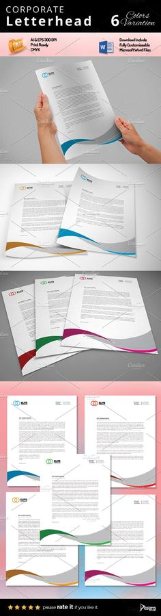 Letterhead by Design'sTRIBE on @creativemarket